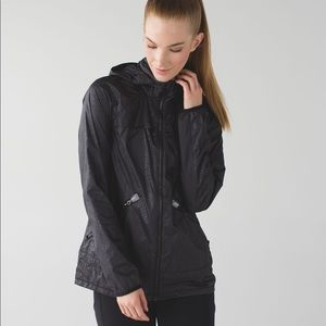 Lululemon Miss Misty Jacket - Desert Snake Black